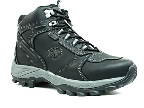 Harley-Davidson Men's Trevor Hiking Shoe,Black,11.5 M US - Harley Davidson Western Boots Men