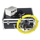 Iglobalbuy Pipeline Inspection Monitior Drain Pipe Sewer Camera Video Snake 30m 100ft +DVR