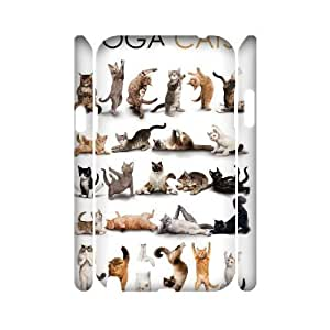 Yoga Cats Unique Design 3D Cover Case for Samsung Galaxy Note 2 N7100,custom cover case ygtg573563