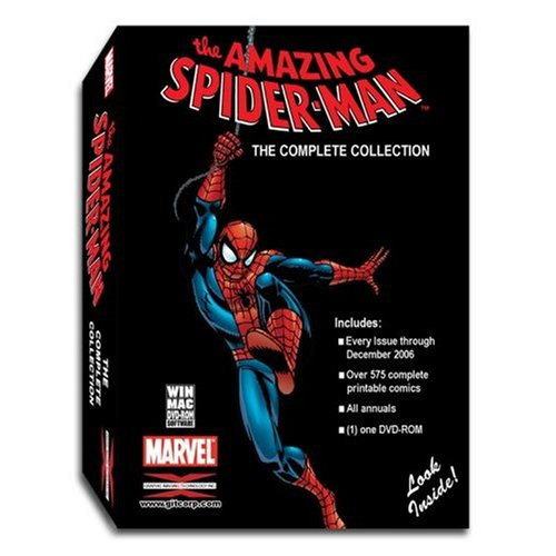 Marvel Comics - The Amazing Spider-Man Complete Comic Book Collectors Edition DVD-ROM