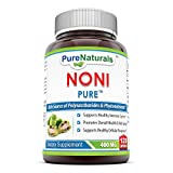 Pure Naturals Noni Capsules, 400 Mg, 120 Count For Sale
