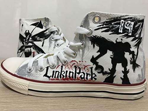 - Linkin Park Hand Painted Shoes Custom Shoes For Men Painted Shoes Custom Chuck Taylors Men Women FREE SHPPING