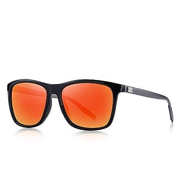 QZHE Gafas de sol Lentes De Sol Unisex De Aluminio con ...