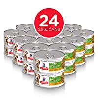 Hill's Science Diet Adult 7+ Youthful Vitality Small, Mini Chicken & Vegetable Stew Canned Dog Food