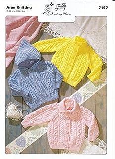 Baby  Knitting Pattern  Aran 7200