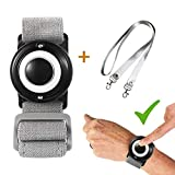KSEFENCE 2020 - Big Button One Finger Press Personal Safe Sound Alarm, Wrist Personal Alarm for Elderly Kids and Women When Emergency Occur, Gift for Family (Black)