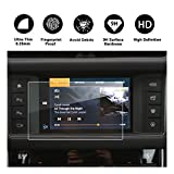 RUIYA 2017 2018 Jaguar F-PACE XE 2016-2018 Jaguar XF 2016 2017 Jaguar XJ Car Navigation Protective Film, Clear Tempered Glass HD and Protect your Eyes(8-Inches)