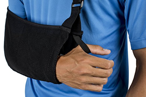 Think-Ergo-Arm-Sling-Sport-Ergonomic-Lightweight-Breathable-Mesh-Neoprene-Padded-Strap