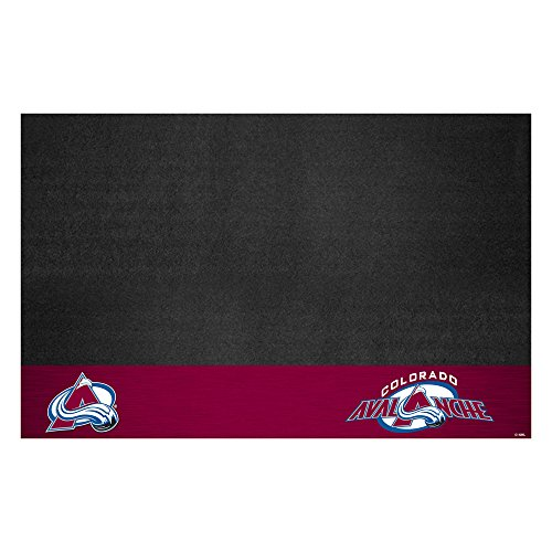 Fanmats NHL Colorado Avalanche Grill Mat, (Nhl Floor Mats)