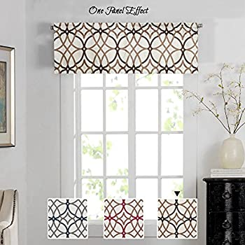 Amazon Com H Versailtex Energy Saving Curtain Valances