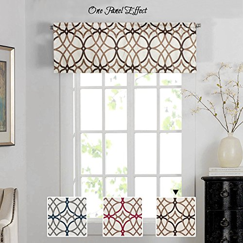 Window Valances For Living Room With Valance: Amazon.com