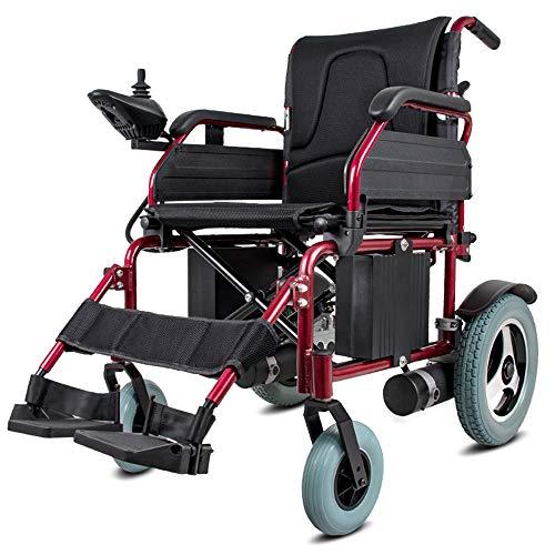 YOLANDE Silla eléctrica eléctrica Ligera y Plegable para sillas de Ruedas: hasta 15 Millas de Alcance. Batería de Litio de sólo 35 kg.