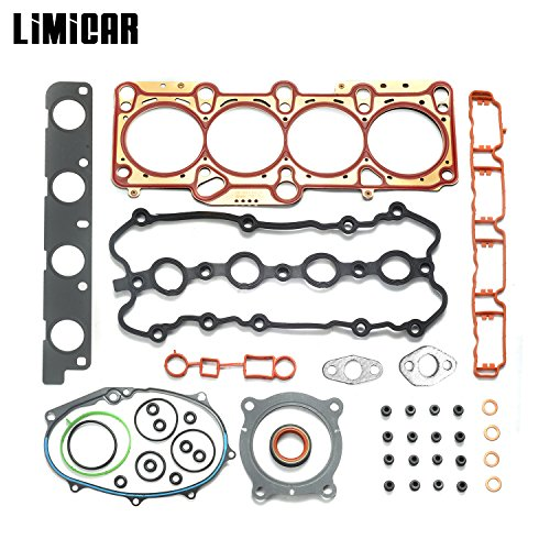 LIMICAR Cylinder Engine Head Gasket Set For 2005-2008 Audi A3 Audi A4 Quattro 2006-2008 Volkswagen GTI Passat 2007-2008 Volkswagen Eos 2.0L TURBO DOHC GS33502 - Audi Head
