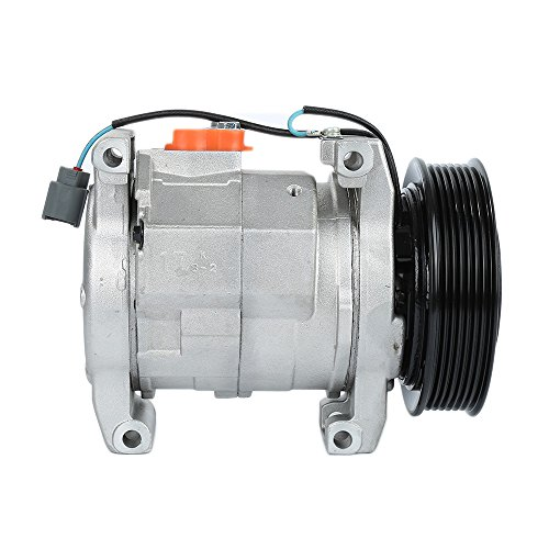 2.4l A/c - AC A/C Compressor Fit For 2003-2007 Honda Accord L4 2.4L 4 Door 10S17C 77389