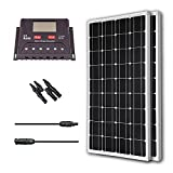 Renogy 200 Watt 12 Volt Monocrystalline Solar Bundle Kit with 30A PWM Controller - LCD Display