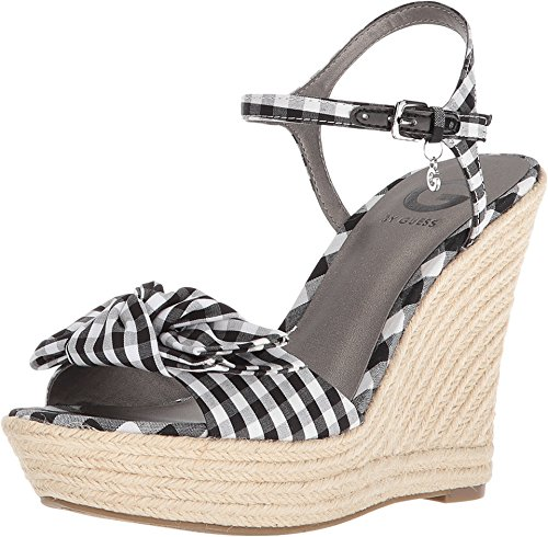 G by GUESS Women's Dalina Black/White 10 M US