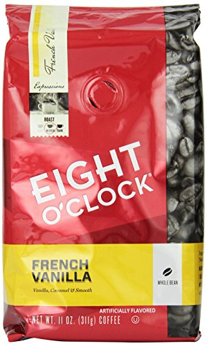 eight-oclock-whole-bean-coffee-french-vanilla-11-ounce-pack-of-6