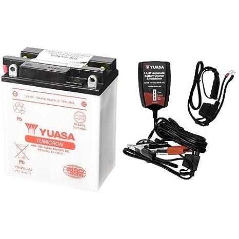 Amazon.com: Yuasa YUAM22212 YB12AL-A2 - Batería, batería con ...