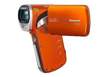 Panasonic HX-WA2 Waterproof Full HD Camcorder - Orange: Amazon.co ...