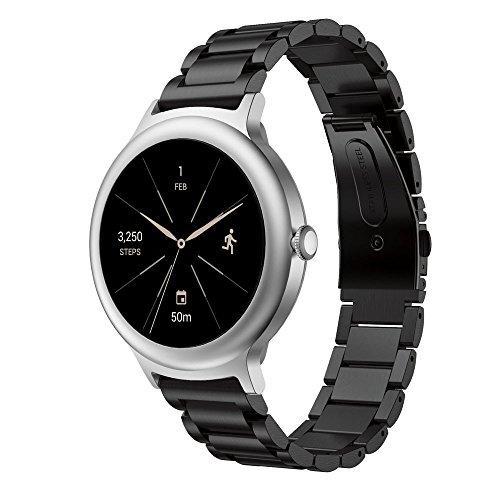 2019 Great Best Gift !!! Cathy Clara Genuine Stainless Steel Bracelet Smart Watch Band Strap for LG Watch Style Watch Smart Watch Wrist ()