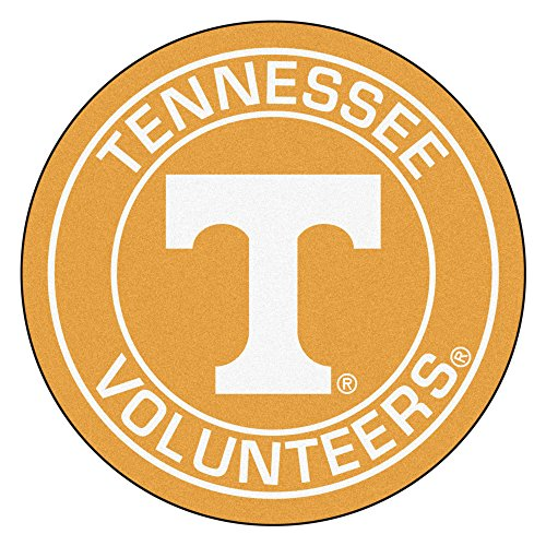 NCAA University of Tennessee Volunteers Rounded Non-Skid Mat Area Rug