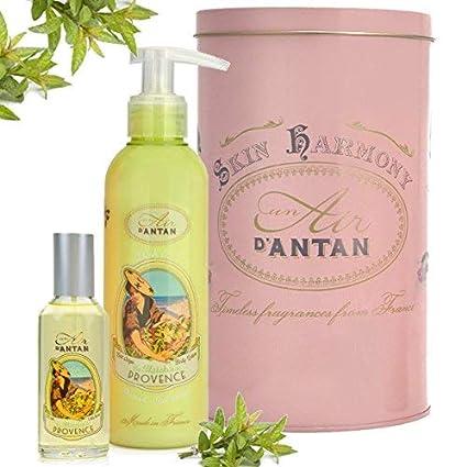 Caja Regalo Belleza Provence para Mujer – 1 Colonia 55ml, 1 Crema Corporal Hidratante 200ml