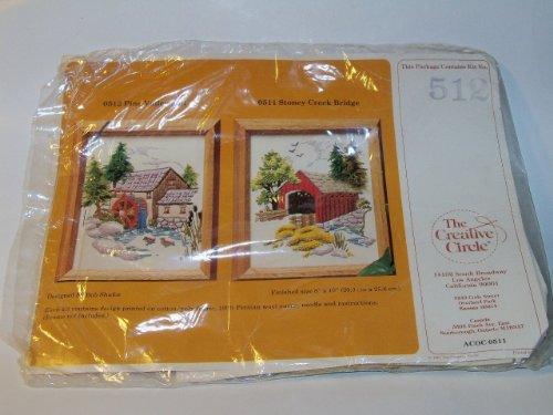 The Creative Circle # 512 Pine Valley Mill Crewel Kit