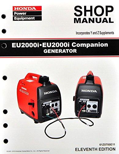 Honda EU2000 EU2000i Generator Service Repair Shop Manual