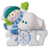 Frosty Fun Decade Lounging Snowman Ornament Snowmen