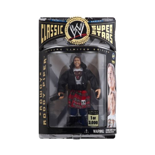 WWE Classic Rowdy Roddy Piper Limited 1 of 3000