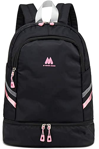 Women Sports Backpack Gym Bag