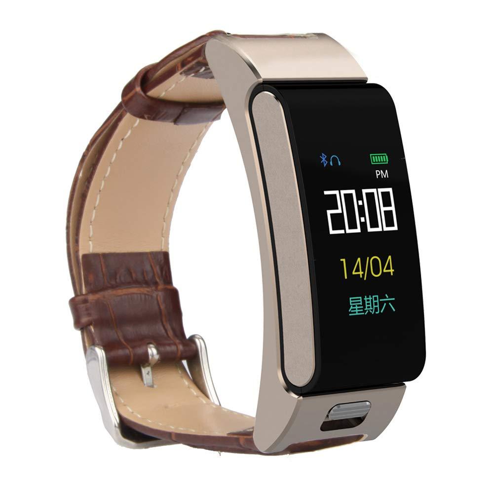 SPORS Bluetooth Headset Combo Smart Bracelet, Heart Rate Blood Pressure Monitoring Bracelet, Long Standby Smart Watch-2 by SPORS