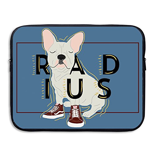 Praise Store French Bulldog Computer Liner Laptop Computer Sleeve 13 Inch Tablet Case Computer Accessories For Macbook Air Pro (French Bull Tablet Case)