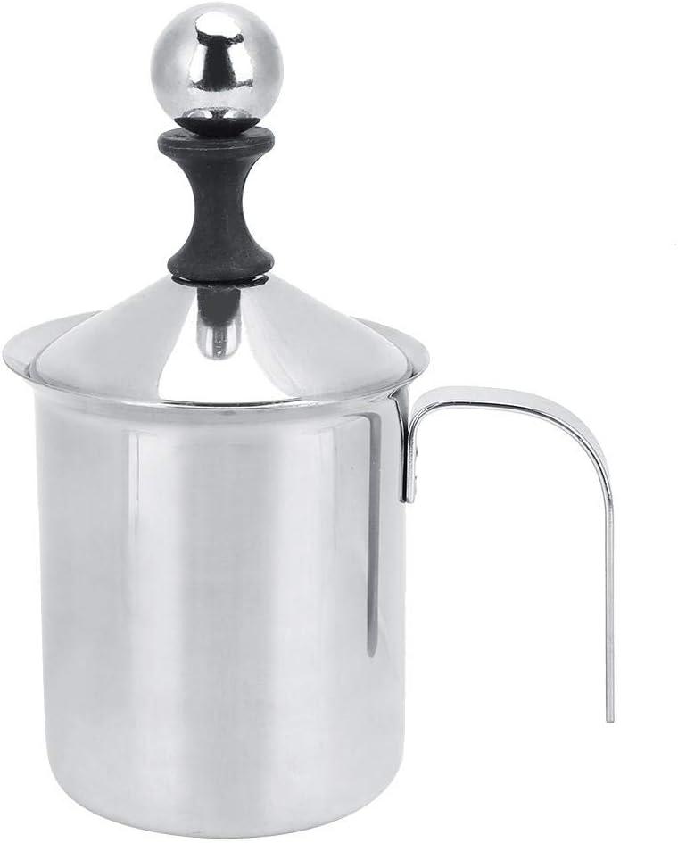 espumador de leche espumador de leche para el hogar espumador de caf/é espumador de leche de mano Bomba de espumador de leche caf/é con leche