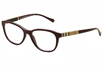 b9f1f1c8bd98 Burberry Eyeglasses BE2172 3400 Violet 54 16 140