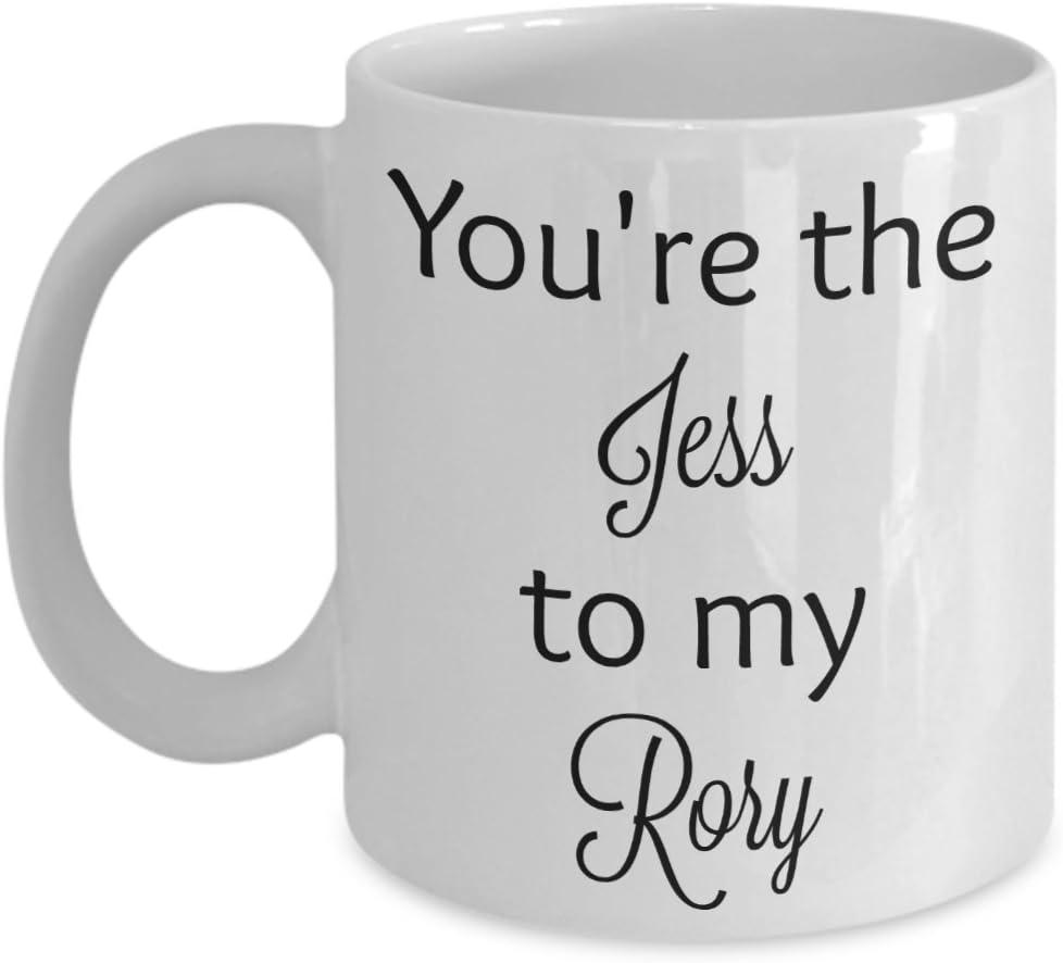 You're the Jess to my Rory coffee mug (11 oz, white)