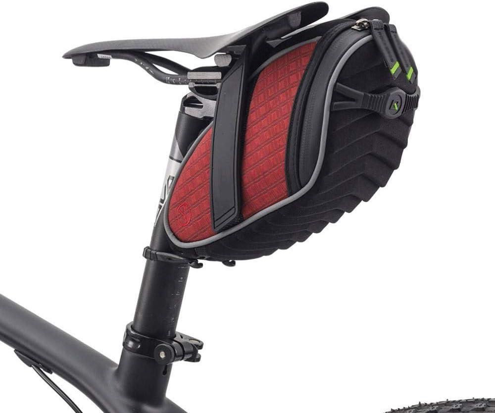 GJZhuan Bolsa de Cola Trasera de Bicicleta Gran Capacidad Mérida Bicicleta de Carretera Bolsa de Asiento Trasero Equipo de equitación Accesorios (Color : Red): Amazon.es: Hogar
