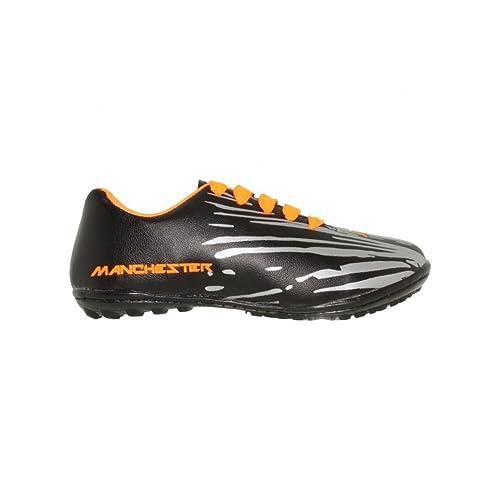 Tenis futbol rapido niño sintetico negro plata naranja - Su Favorita 19.5 426b4c29b889d