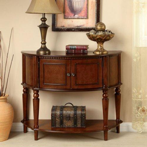 24/7 Shop at Home 247SHOPATHOME IDF-AC6714 Sofa-Tables, Cherry ()