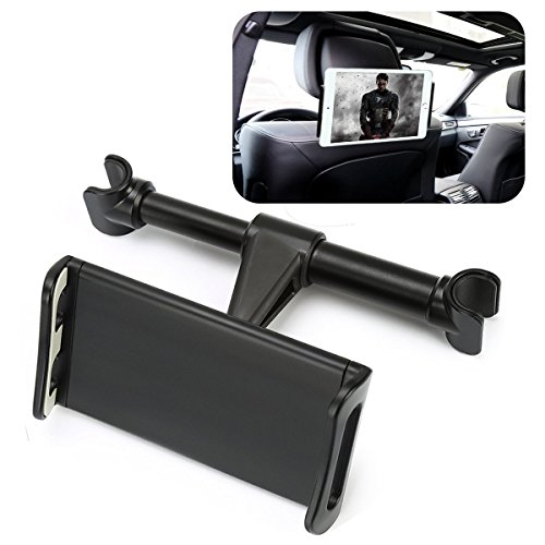 Car Headrest Mount, TLOVII Car Back Seat Mount Holder for iPhone iPad, Samsung Galaxy Tablets, Universal Tabs Stand for All Devices Up to 11 Inch
