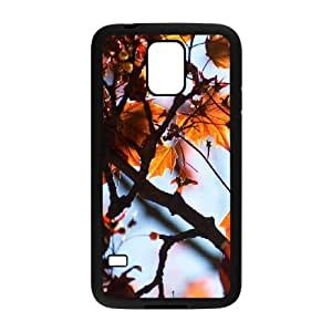 Maple Tree Branch Samsung Galaxy S5 Cell Phone Case Black Scyfo