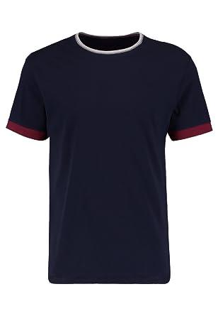 f07ec9411263e3 Pier One T Shirt für Herren mit Bündchen   Rundhals Ausschnitt in ...