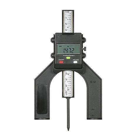 HEEGNPD 0-130 mm Medidor de Altura Digital Sierra de 80 mm Medidor ...