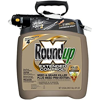Roundup 5725070 Extended Control Weed And Grass Killer Plus Preventer II Ready To