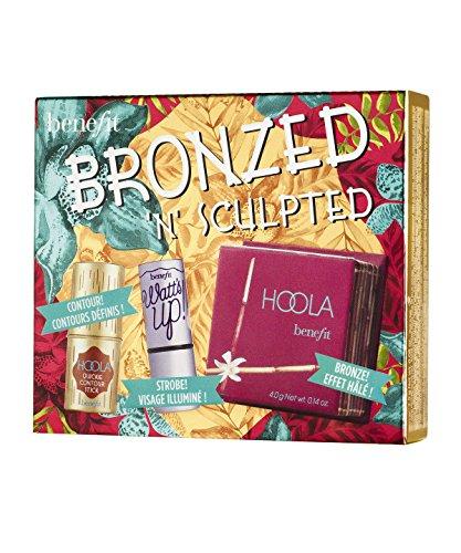 Benefit Bronzed 'N' Sculpted Kit, Hoola Matte Powder, Watt's Up, Hoola Quickie Contour Stick