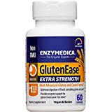 Enzymedica - GlutenEase Extra Strength, Complete Gluten & Casein Formula with Digestive Enzymes + DPP-IV, 60 Capsules (FFP)