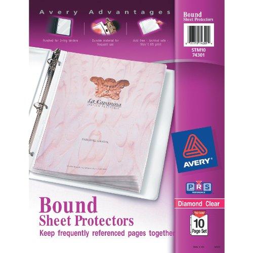 Avery Diamond Protectors 10 Page 74301