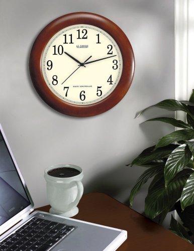 La Cherry Wood Analog Clock,