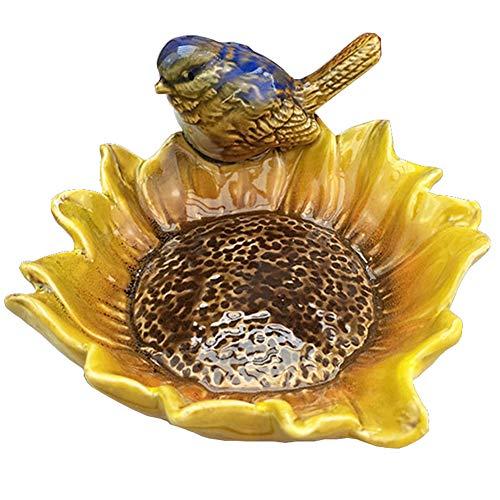 BLANCHO BEDDING Multipurpose Ceramic Shower Soap Dish/Creative Soap Holder/Jewelry Decorative Dish/Ashtray (Bird-2) from BLANCHO BEDDING