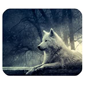 Beautiful Wolf Rectangle Non-Slip Rubber Mousepad Gaming Mouse Pad Pad248